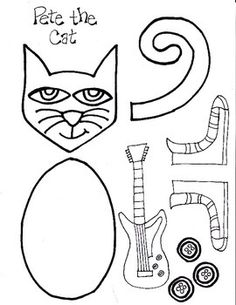 236x305 Free Printable Pete The Cat His Four Groovy Buttons Cut