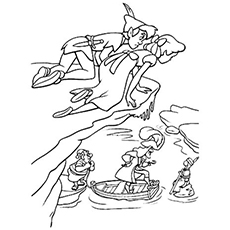 230x230 Peter Pan Coloring Pages