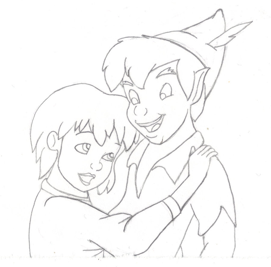 900x888 Peter Pan And Jane By Josiesayz