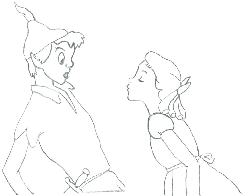 1006x794 Peter Pan And Wendy By Underscope1993