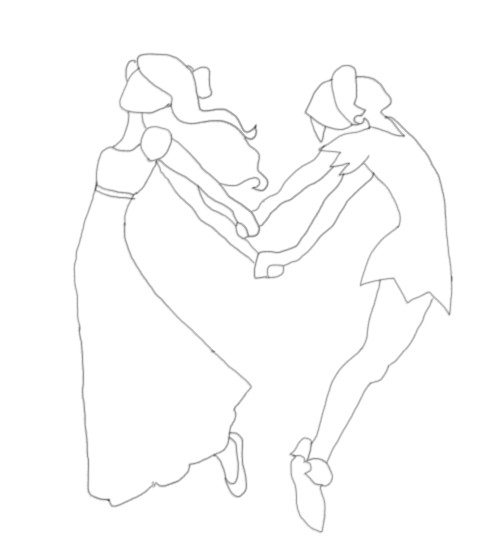 492x552 Peter And Wendy Coloring Page By Middler3dd