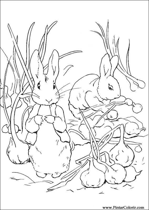 567x794 Drawings To Paint Amp Colour Peter Rabbit