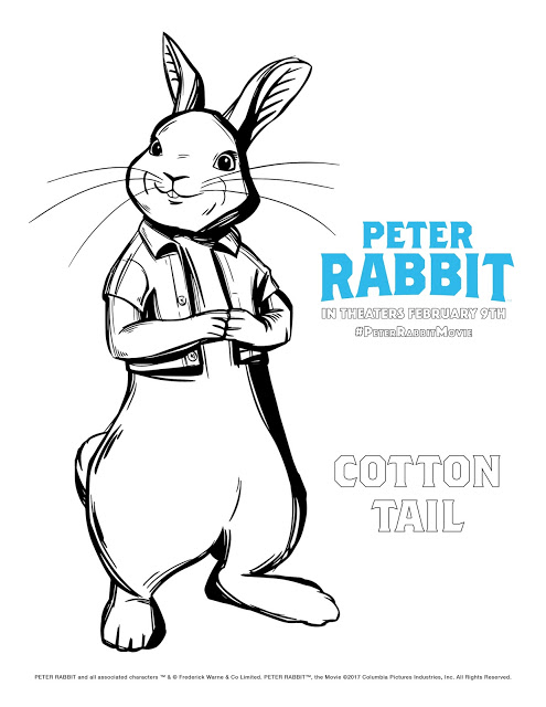 495x640 Peter Rabbit Screening Win Reserved Seats 800x837 And Lily Bobtail Coloring Page