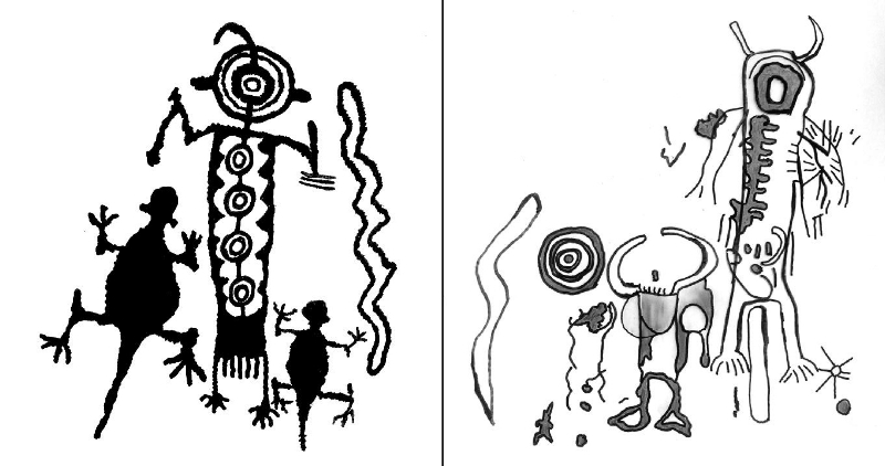 800x422 Myth, Ritual And Rock Art Coso Decorated Animal Humans And