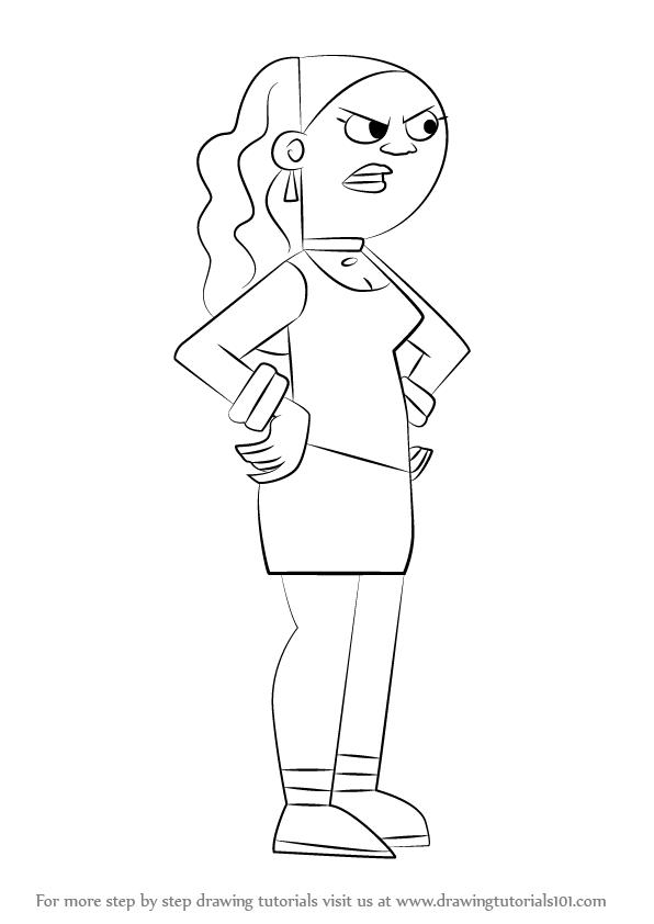 596x842 Learn How To Draw Valerie Gray From Danny Phantom (Danny Phantom
