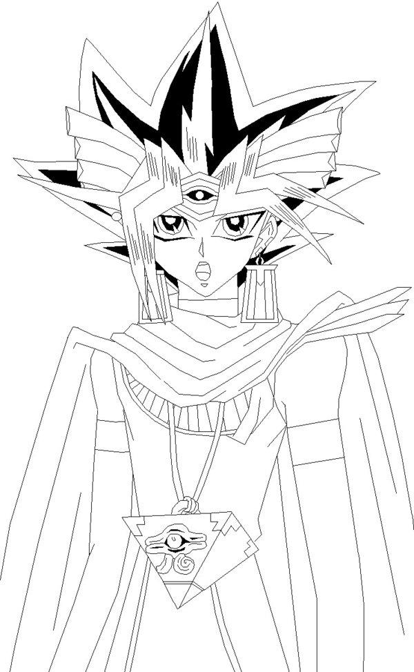 600x974 Pharaoh Atem