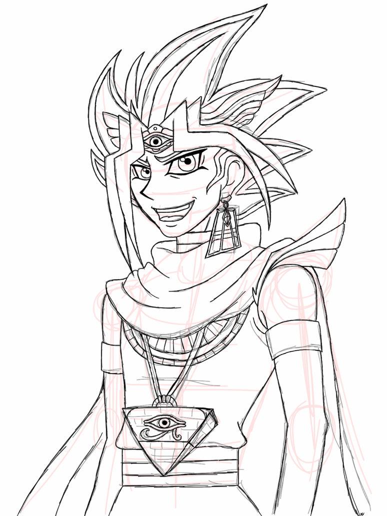 774x1032 Pharaoh Sketch By Skykly