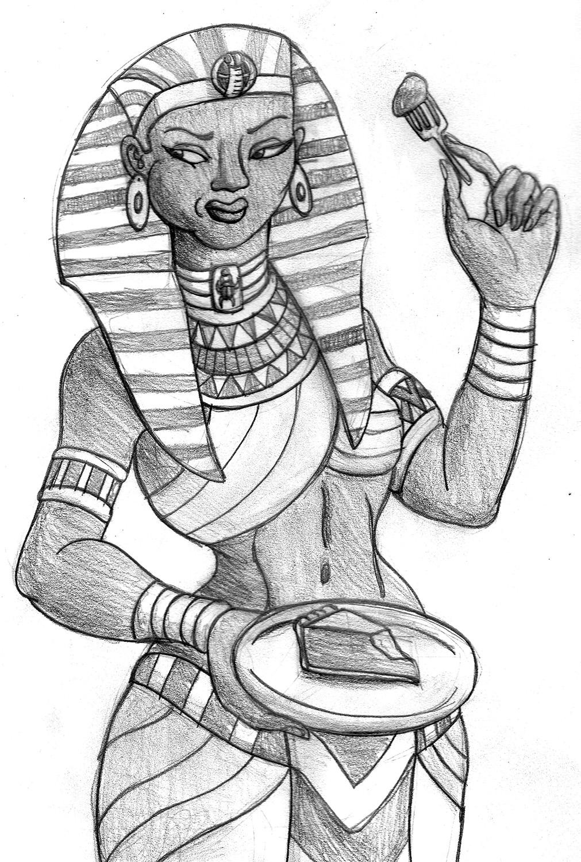 1011x1500 Pharaoh Tries Pie Tyrannoninja's Art And Writing