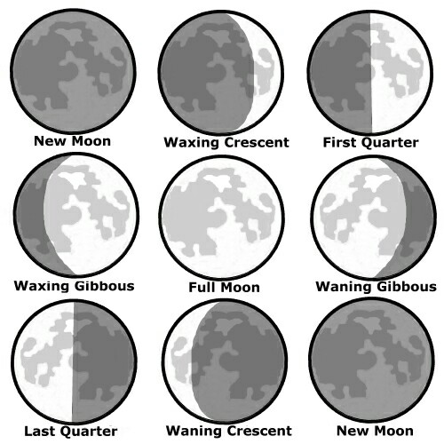 500x500 The Phases Of The Moon Form An Important Part Of A Witches