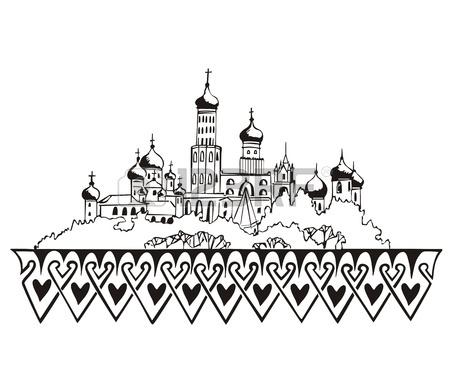 450x374 Philadelphia, Pa Skyline. Black And White Royalty Free Cliparts