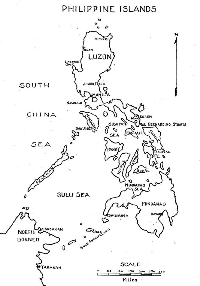 Philippine Map Drawing