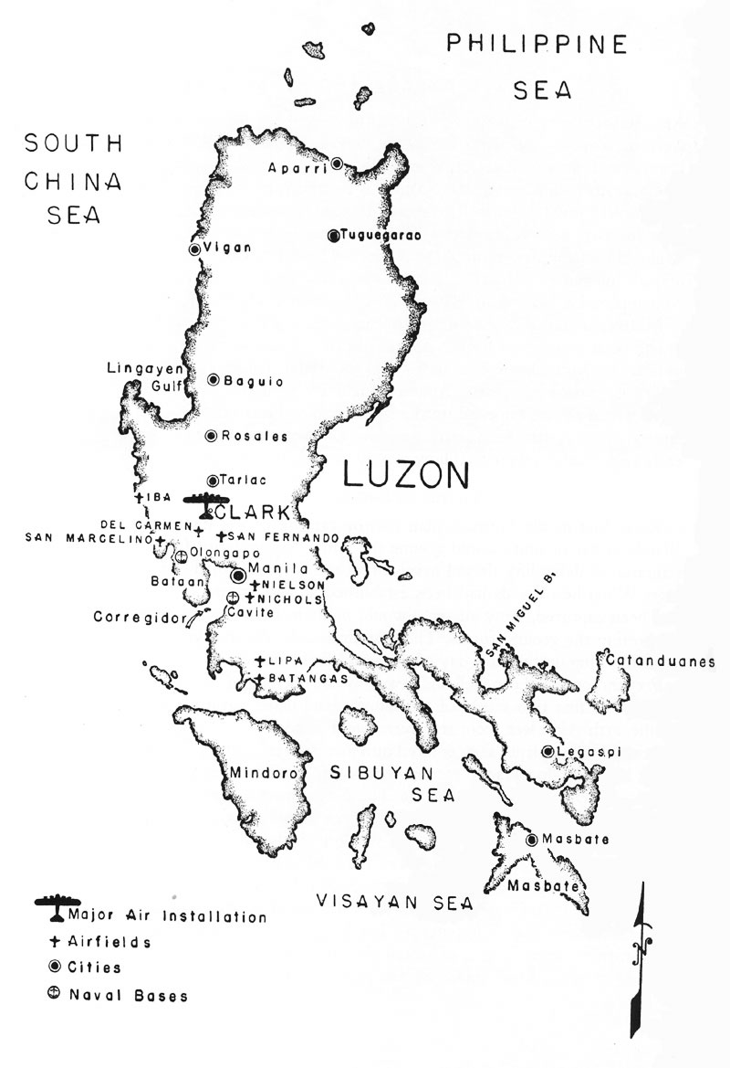800x1169 Major Airfields In The Philippine Islands Prior To The Beginning