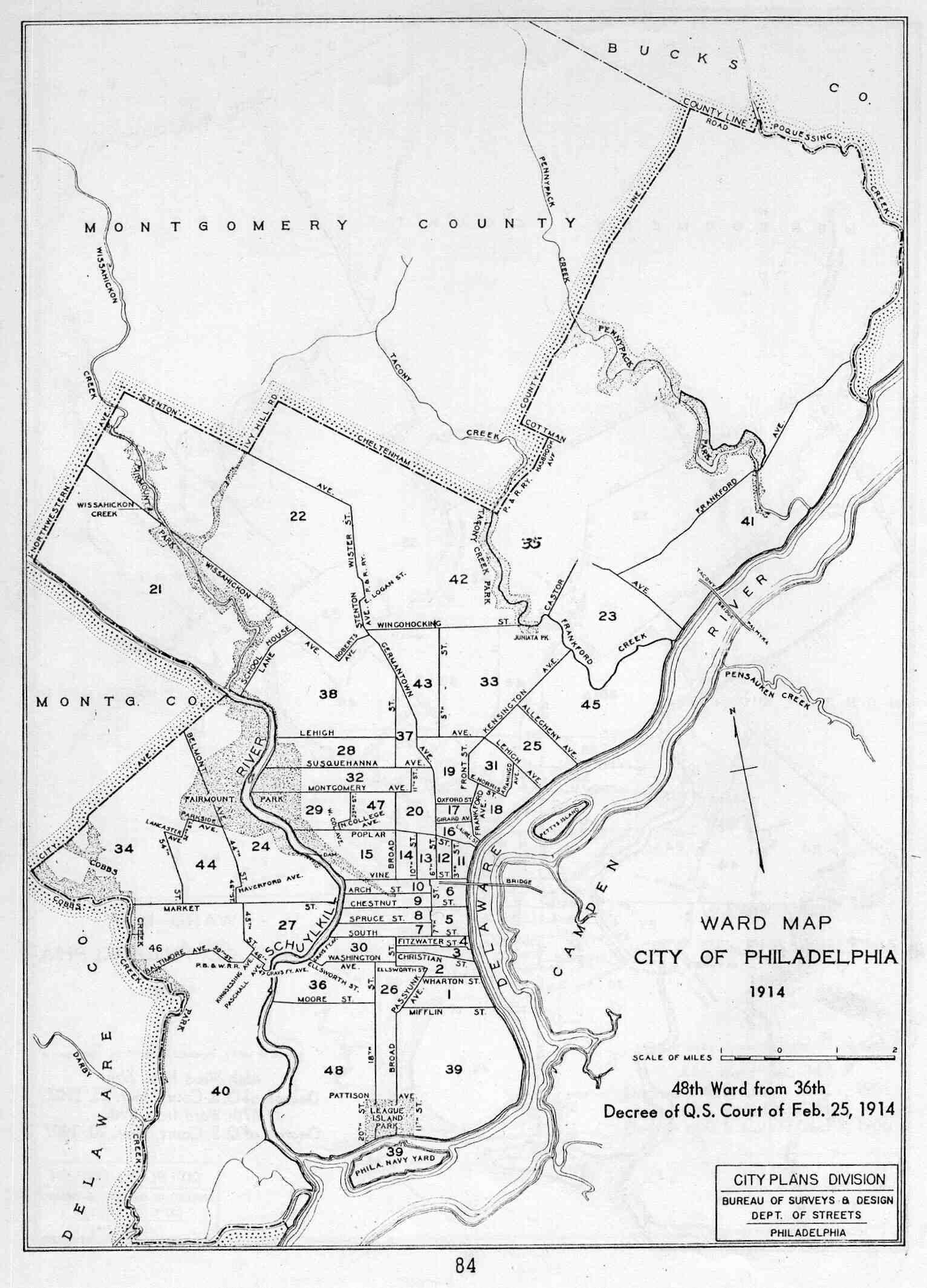 1533x2129 Committee Of Seventy Political Maps Of Philadelphia