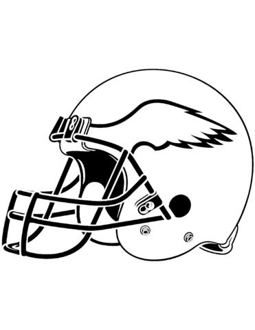 371x480 Philadelphia Eagles Helmet Coloring Page Free Printable Coloring