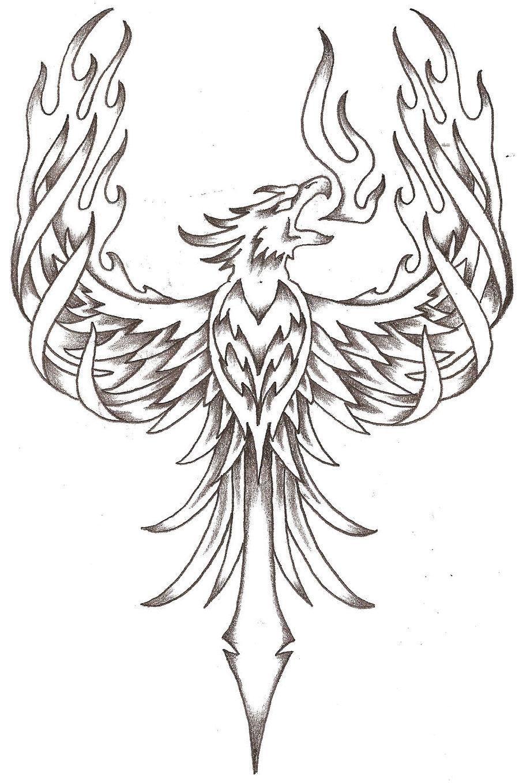 900x1358 Phoenix Tattoos Phoenix Firebird By Thelob