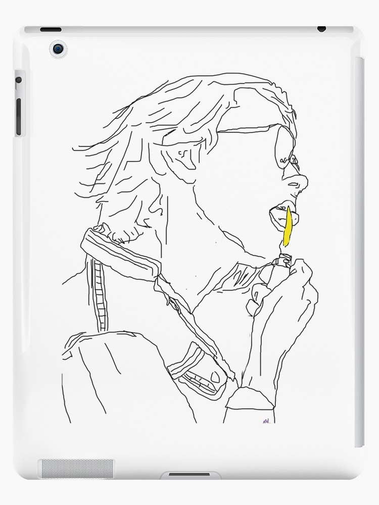 750x1000 River Phoenix Tumblr Lighter Outline Ipad Cases Amp Skins By