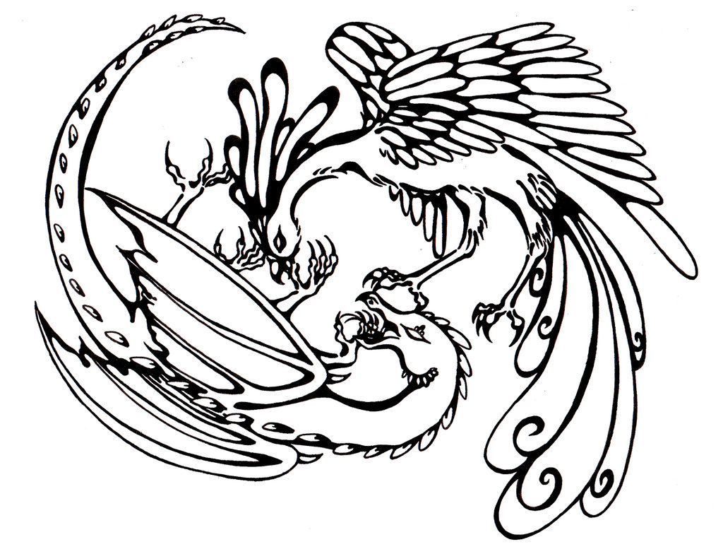 1024x784 And Phoenix Clipart