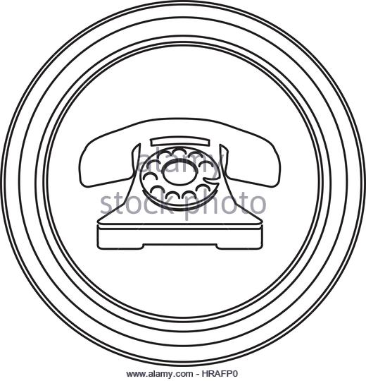 520x540 Old Telephone Stock Vector Images