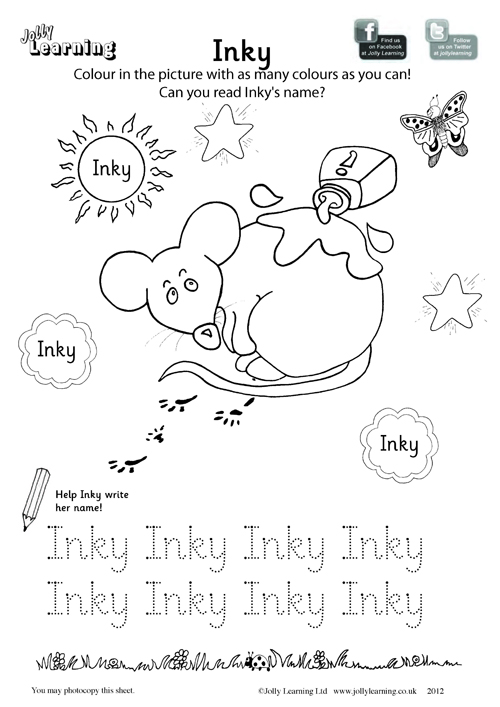 500x707 Colouring Worksheets