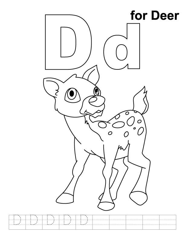 612x792 Deedee Deer Letter Activities Zoo Phonics, Phonics