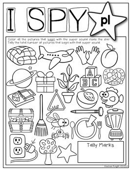 270x350 I Spy Super Sounds (Supplemental Phonics Practice) Word Work Centers
