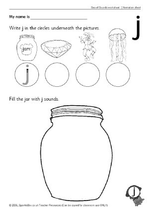 302x427 Letter J Phonics Activities And Printable Teaching Resources