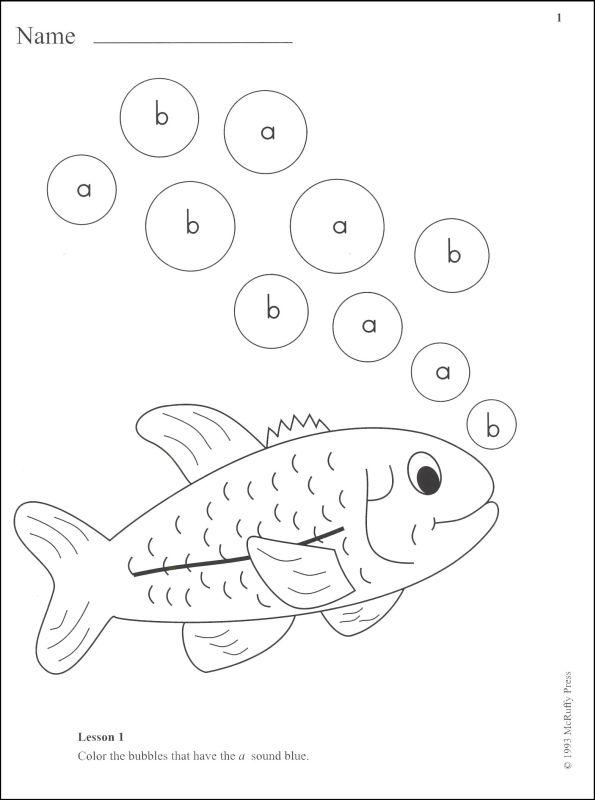 595x800 Phonics Kindergarten Workbook 1 (029635) Details