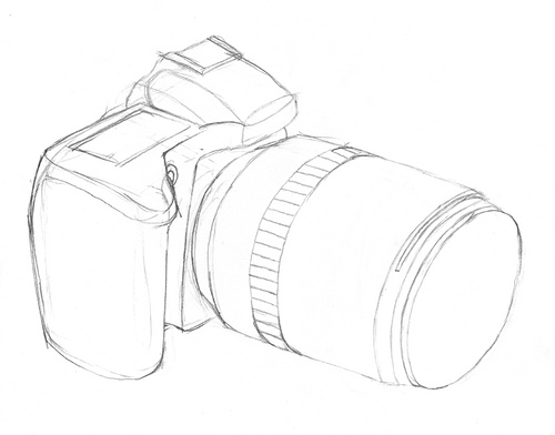 500x392 Sketching My Camera Far From Perfect Xavez
