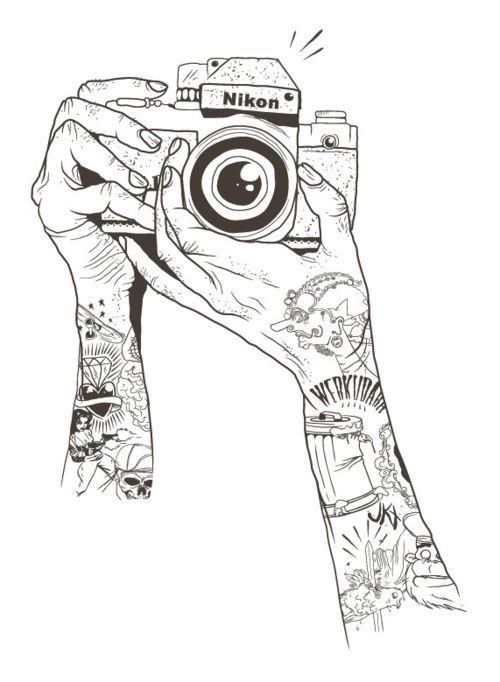 Photographer Drawing