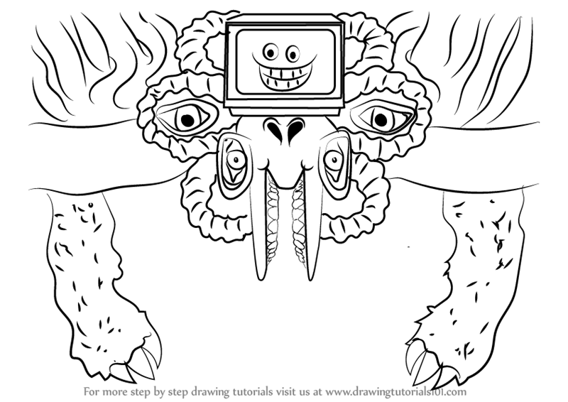 undertale flowey head pixel art