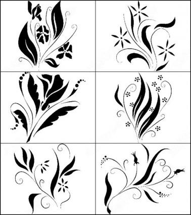 378x425 Floral Brush Photoshop Brushes Photoshop Brushes Free Download