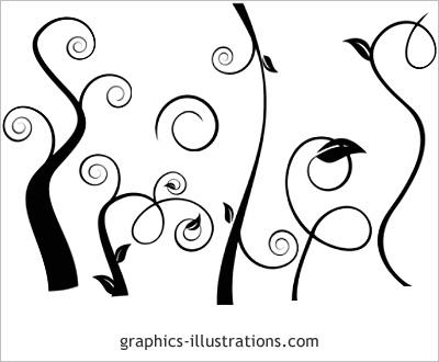 400x330 Graphics Illustrations Photoshop 7.0 Brushes Swirls Download