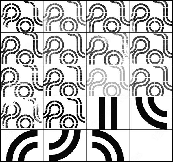 598x560 Tech Race Lines Brush Photoshop Brushes In Photoshop Brushes Abr