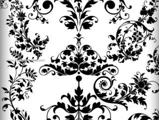 320x242 Ornament Ps Brushes Photoshop Free Brushes Download