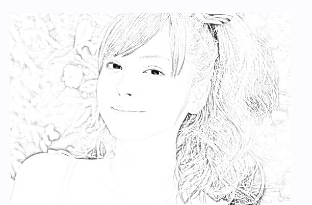 Photoshop Photo Line Art Effect : Photoshop effects drawing at getdrawings free for personal