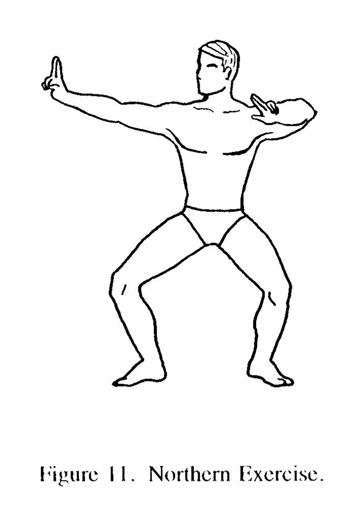 Physical Fitness Drawing