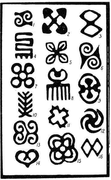 370x600 Ronald D. Isom Sr. Adinkra Symbols, Physics And My Doodles
