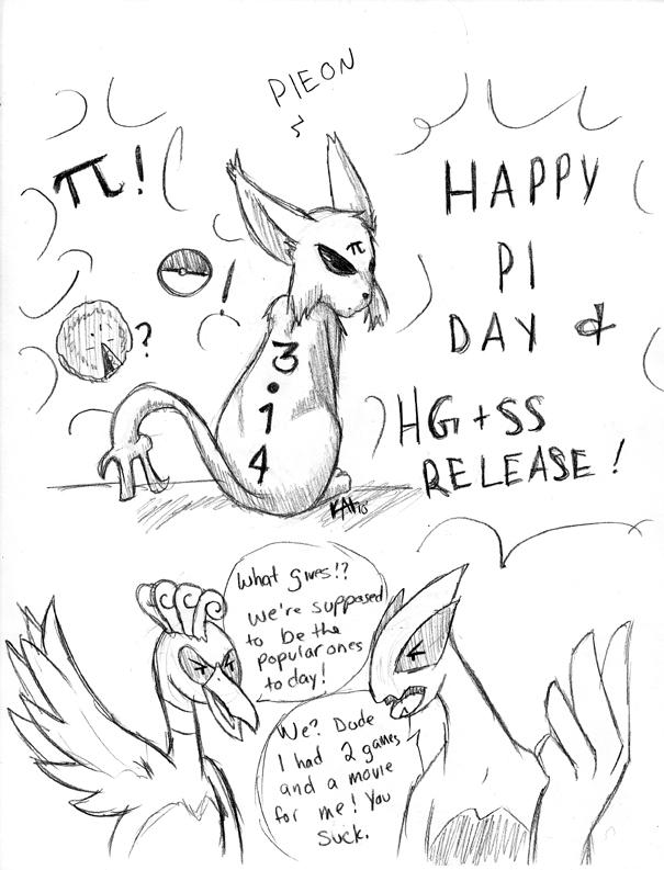 605x793 Happy Pi Day By Cocowoushi