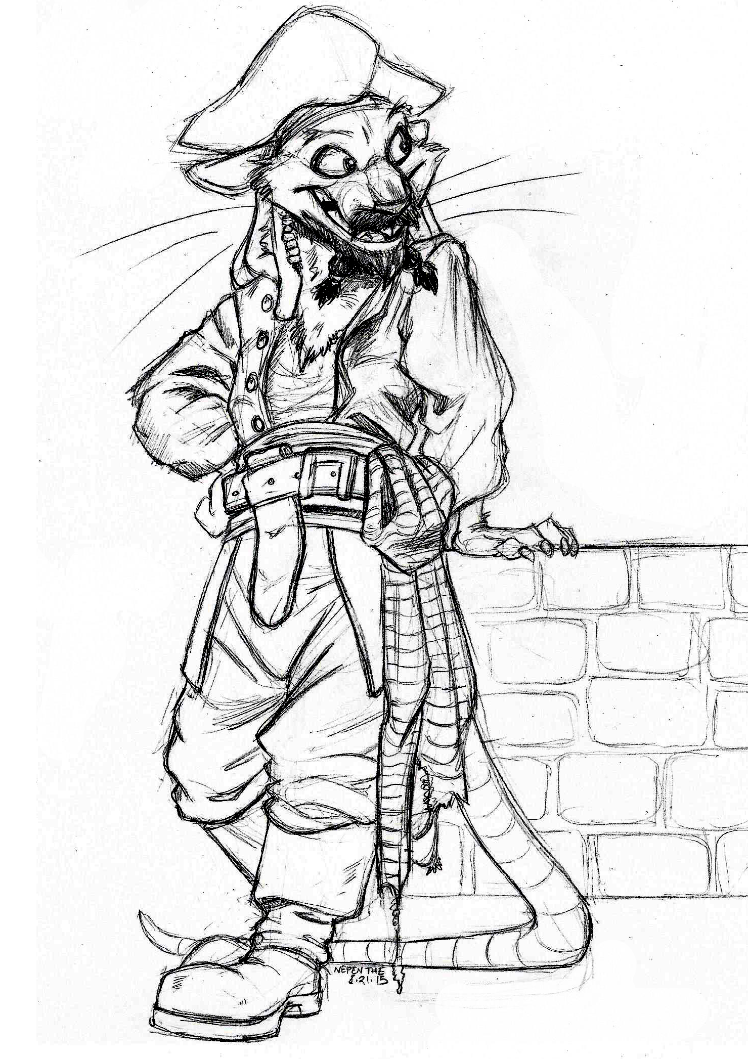 1479x2094 Pi Rats Of The Caribbean Jack Sparrow Weasyl