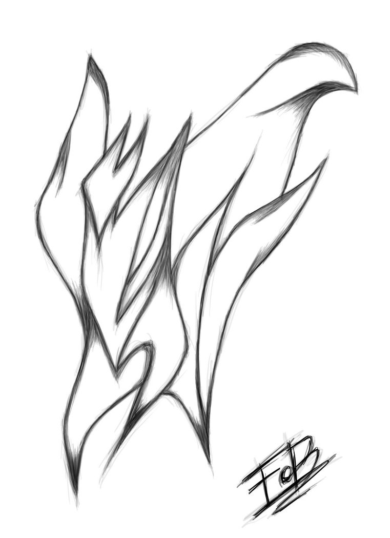761x1049 Abstract Drawing 2 By F0b3y