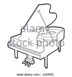 300x320 Grand Piano Icon. Isometric Illustration Of Grand Piano Vector