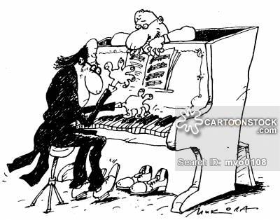 400x314 Pianoes Cartoons And Comics