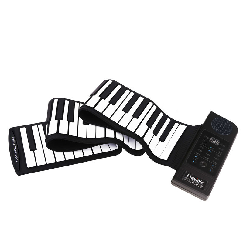 800x800 Durable Portable Silicon Music Instruments For Kids 88 Keys