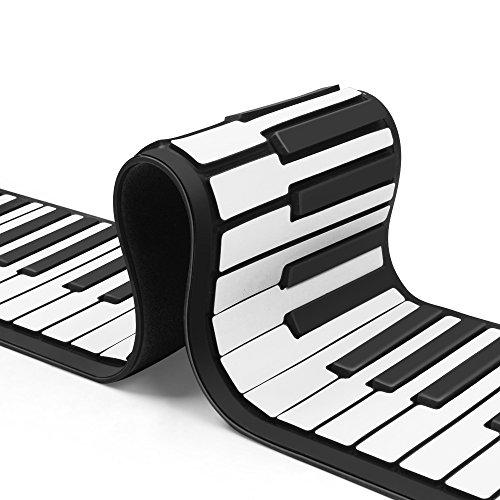 500x500 Flexzion Portable Roll Up Piano