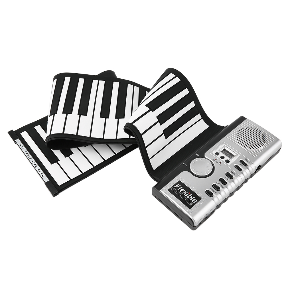 1010x1010 61 Keys Universal Flexible Roll Up Electronic Piano Soft Keyboard