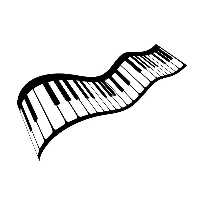 Piano Keys Drawing