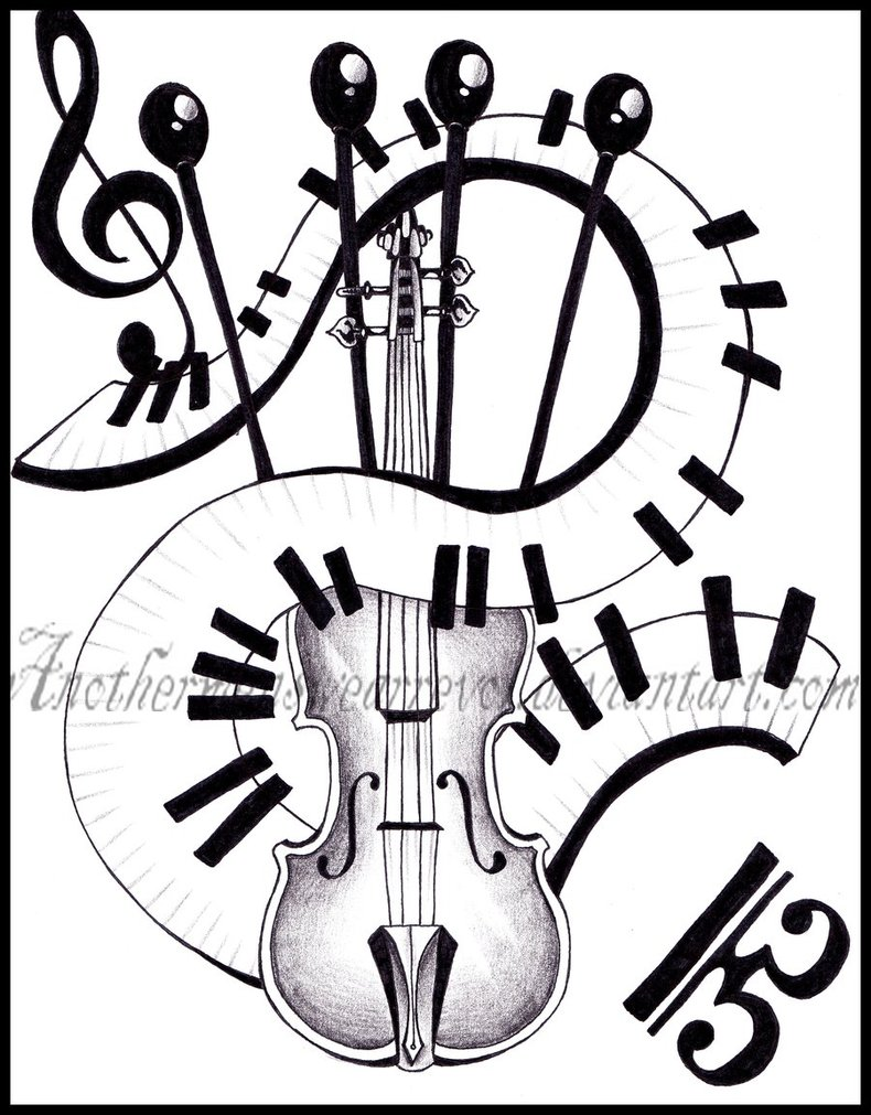 Piano Keys Drawing At Getdrawings Com Free For Personal