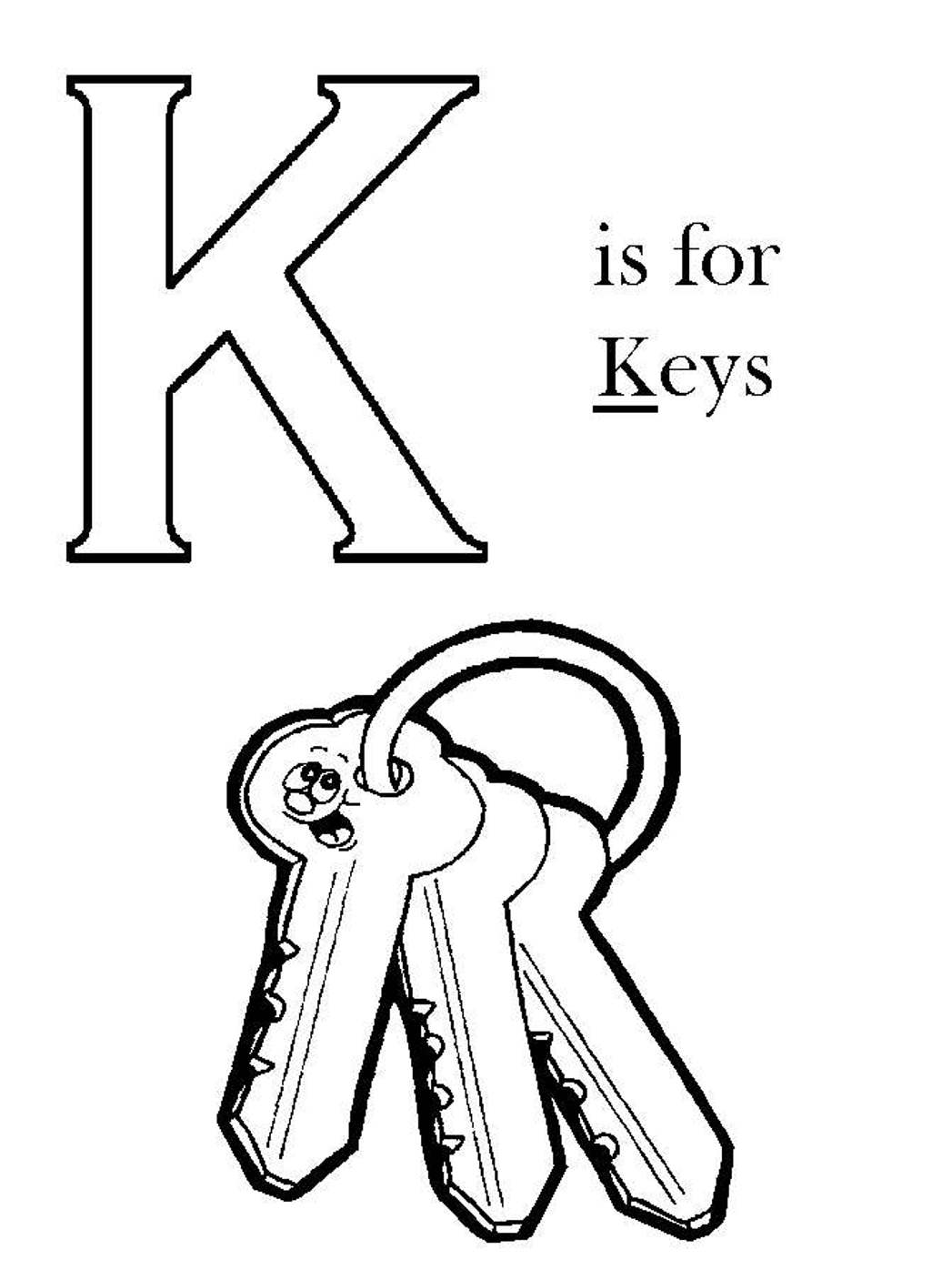 1047x1396 Images Key Coloring Page For Your Free Pages Drawing Kids Piano