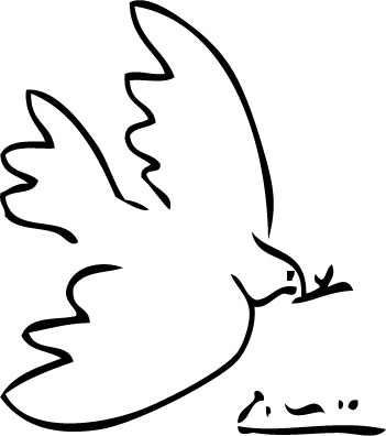 351x396 The Dove Of Peace