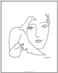 236x299 Picasso Line Drawing Picasso, Drawings
